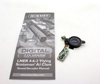 Hornby Digital Class A1 Flying Scotsman Steam Locomotive DCC TTS Sound Decoder and Speaker