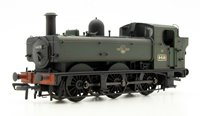 Class 64xx BR Lined Green Late Crest 0-6-0 Pannier Tank 6419 Weathered