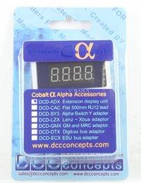 DCC Concepts DCP-ADX COBALT ALPHA Extension Display