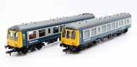 Class 108 2 Car DMU BR Blue/Grey With Yellow Ends
