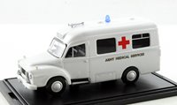 Oxford Diecast 76BED006 Bedford J1 Ambulance Army Medical Services