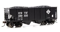 55 Ton 2-Bay USRA Outside Braced Hopper with load ERIE #159100