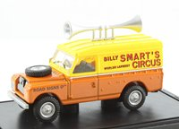 Oxford Billy Smarts Land Rover Series II Hard Top Spearkers