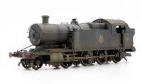 Custom Finished BR Black (Early) Class 42xx 2-8-0 Tank Locomotive #4287 Weathered