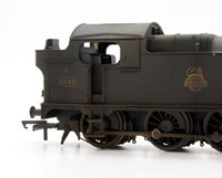 Custom Finished BR Black Class 52xx 2-8-0 Tank Locomotive #5231 Weathered