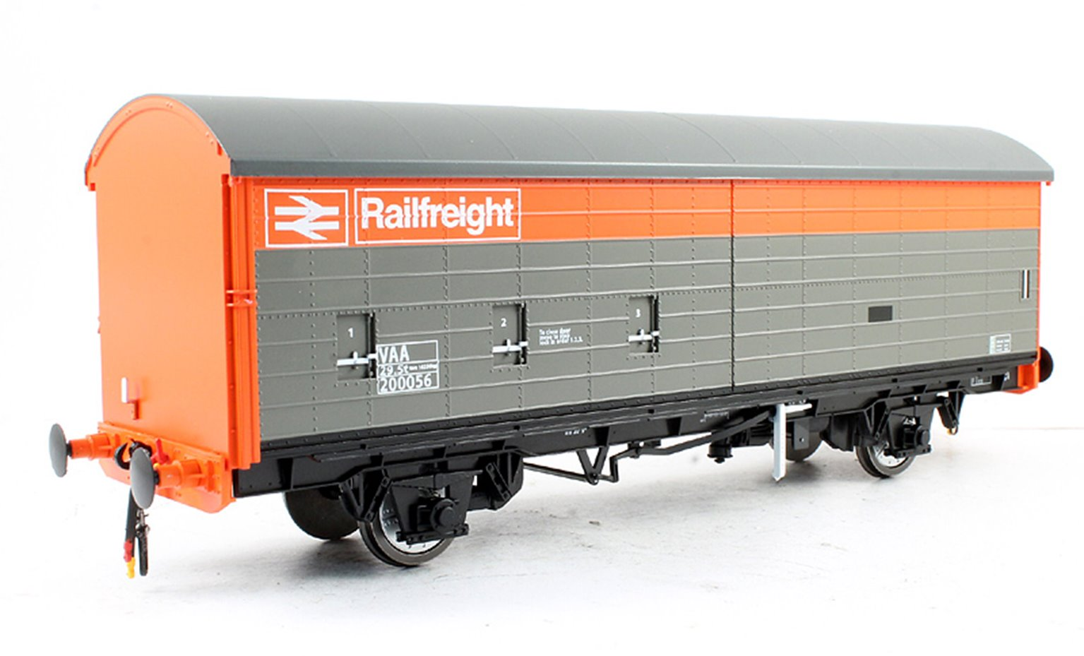 Railfreight VAA Box Van Red/Grey Livery