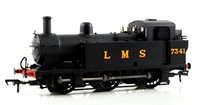 OO Scale Fowler Class 3F 0-6-0 (Jinty) 7341 LMS Black