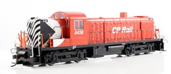 ALCO RS-3 CP #8438 - Multimark Red Black & White (DCC Sound)