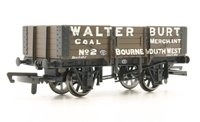 Hornby 5 Plank Wagon 'Walter Burt'