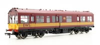 LMS 50' Inspection Coach EWS Maroon Half Yellow Ends