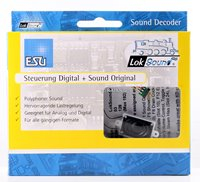 "Loksound v4.0 Micro Steam ""GWR Group 1 2Cyl"" Digital Sound Decoder with Speaker - 6 pin"