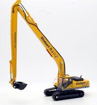 Oxford Diecast 76KOM002 Stobart Rail Excavator
