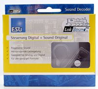 "LOKSOUND V4.0 STEAM ""LNER J39 0-6-0"" DIGITAL SOUND DECODER WITH SPEAKER - 21 PIN"