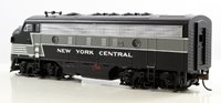 New York Central F7A Diesel Locomotive with DCC Sound