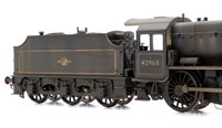 LMS Stanier Mogul Class #42968 BR Lined Black Late Crest (Preserved) *Custom Weathered*