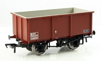 27 Ton Steel Tippler Wagon MSV BR Bauxite