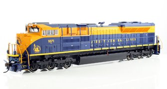 Jersey Central Lines SD-70ACe Diesel Locomotive #1071 - DCC Sound Equipped