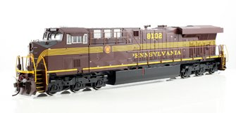 Pennsylvania PRR GE ES-44AC Diesel Locomotive #8102 - DCC Sound Equipped