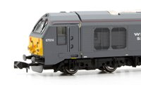 Dapol 2D-010-004D Wrexham & Shropshire Cl.67 014 Thomas Telford (DCC-Fitted)