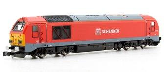 Dapol 2D-010-006 DB Schenker Class 67 015 Red