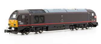 DBS Class 67005 Queens Messenger Royal Claret (DCC-Fitted)
