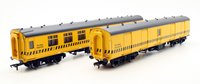 Bachmann OO Pair of Permanent Way Re-Railing Equipment MK1 Coaches