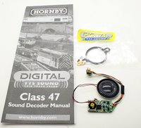 Hornby Digital Class 47 DCC TTS Sound Decoder and Speaker