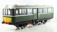 AC Railbus W79977 Dark Green Small Yellow Panels