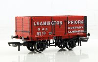 Oxford Rail OR76MW002 7 plank wagon 10 Leamington Priors Gas Mineral Wagon