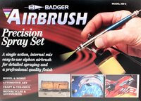 Siphon Feed 200 Airbrush Set
