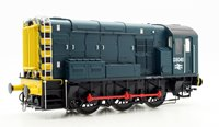 Class 08 #D3045 BR Blue Wasp Stripes Diesel Shunter