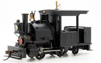 Porter 0-4-2 Black Unlettered (DCC On Board)
