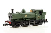Dapol Class 57xx Pannier 0-6-0 8700 in GWR green with shirtbutton emblem