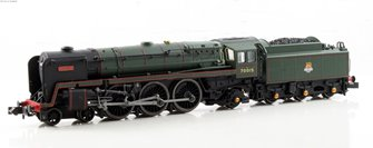 "Class 7MT Britannia 4-6-2 #70015 ""Apollo"" in BR green with early crest - DCC Fitted"