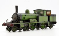 Oxford Rail OR76AR003W Adams Radial 4-4-2T 488 in LSWR *Weathered*