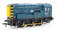 OO Scale Class 08 08818 BR Blue Wasp Stripes Weathered