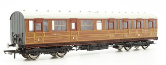 LNER Gresley Non-vestibuled Suburban Composite Coach, Teak '32480'