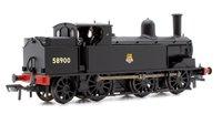 LNWR Webb Coal Tank 58900 BR Black Early Emblem Locomotive