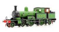 Oxford Rail OR76AR005XS Adams Radial Steam Locomotive - East Kent Railway with DCC Sound