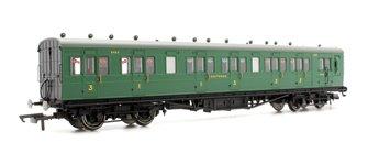 SR 58' Maunsell Rebuilt (Ex-LSWR 48') Six Compartment Brake Composite Coach '6403' - Set 44, SR Green
