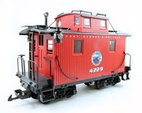 LGB Lake George and Boulder Railroad Caboose