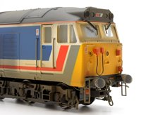Custom Finished Class 50 026 'Indomitable' NSE Diesel Locomotive Weathered