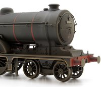 Custom Finished BR (Early) Black Class B12 4-6-0 Locomotive 61533 Weathered