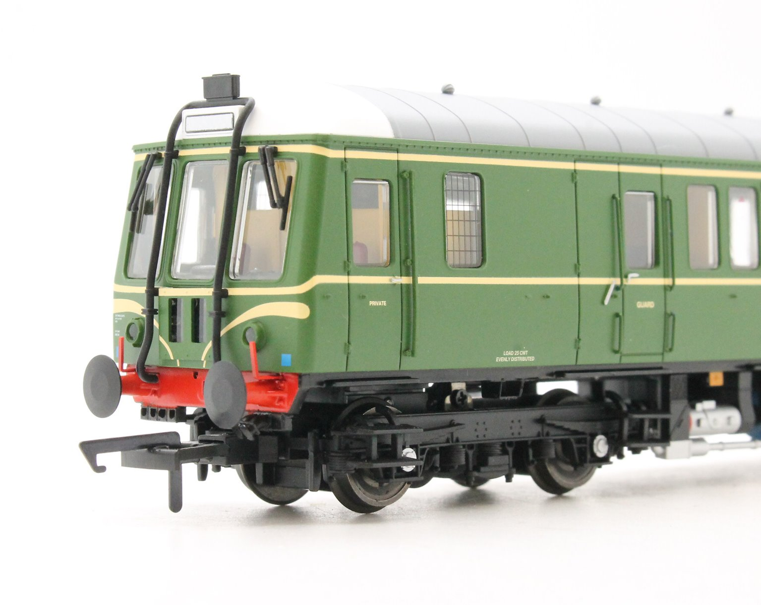 Class 122 Bubble Car #W55000 BR Green with Whiskers