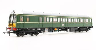 Class 122 Bubble Car #SC55007 BR Green Small Yellow Panel
