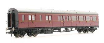 BR Collett Coach Corridor Brake Third Class LH 'W4936W', Maroon