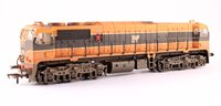 Class 071/111 IR Black/Orange Livery - Weathered