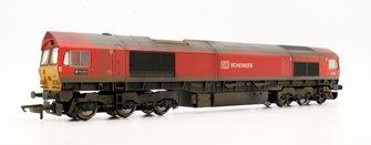 Custom Finished Class 66 185 'DP World London Gateway' DB Schenker Locomotive Weathered