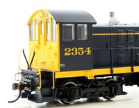 Santa Fe Alco S-2 Diesel Switcher Locomotive #2354 with DCC Sound