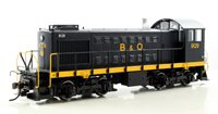 B&O Capitol Dome Alco S-2 Diesel Switcher Locomotive #9129 with DCC Sound